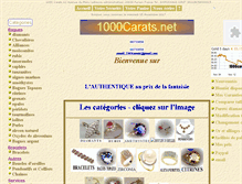 Tablet Preview of 1000carats.net
